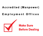 Accredited (Manpower) Employment Offices
