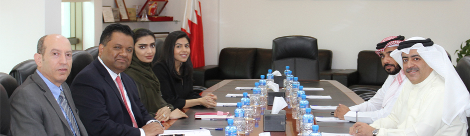 Al Absi Reviews the Economic Indicators with the Delegation of the International Monetary Fund